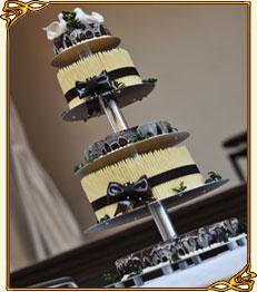 Больщой выбор свадебных тортов