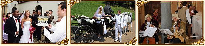 Další služby - wedding chateau - svatba na zámku</p> <p>(klikněte pro více fotografií)